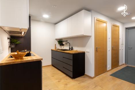 Mēbelēts 3- istabu dzīvoklis otrajā mājā
